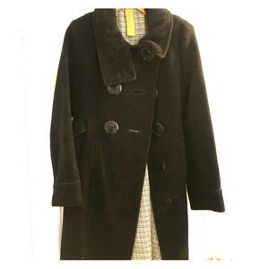 Soia & Kyo - black wool, double breasted, coat
